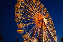 Ferris Wheel. At amusement park Stock Image