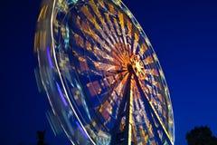 Ferris Wheel. At amusement park Stock Images