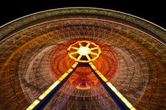 Ferris Wheel. At amusement park Royalty Free Stock Images