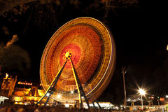 Ferris Wheel. At amusement park Royalty Free Stock Image