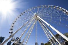 Ferris Wheel. For the sunshine royalty free stock photos