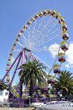 Ferris Wheel. Summer time in Geelong Victoria Australia Royalty Free Stock Images