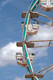 Ferris Wheel. Gondolas against sky stock photos