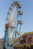 The ferris wheel. The wheel on the Kiliani Volksfest Royalty Free Stock Image