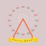 Ferris Wheel vektor illustrationer