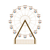 Ferris Wheel royaltyfri illustrationer