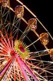 Ferris wheel. A ferris wheel at night Stock Photography