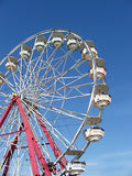 Ferris Wheel. At the fair stock images