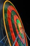 Ferris Wheel. Blured motion of Ferris Wheel at night Stock Photos