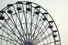 Ferris wheel. Empty ferris wheel Royalty Free Stock Photo