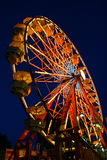 Ferris wheel. In a carnival royalty free stock image