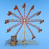 Ferris Wheel Royaltyfria Bilder