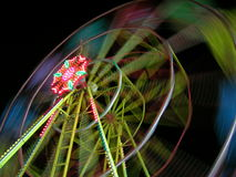 Ferris wheel. At night Stock Photo