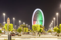 Ferris Wheel in Abu Dhabi Lizenzfreies Stockfoto