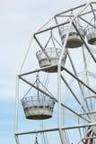Ferris wheel against a blue sky Stock Images