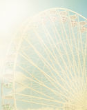 Ferris wheel against the blue sky Royalty Free Stock Photography