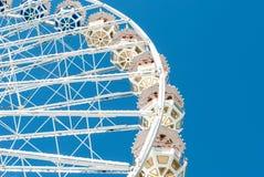 Ferris wheel against the blue sky Stock Images