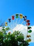 Ferris wheel against blue sky Royalty Free Stock Photo