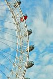 Ferris wheel against a blue sky Stock Photography