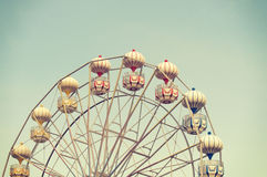 Ferris wheel against blue sky Royalty Free Stock Photography