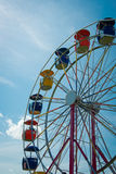 Ferris Wheel Against Bright, Blue Sky Royalty Free Stock Photos