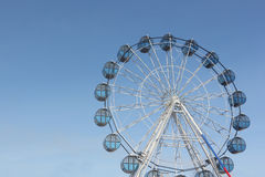Ferris wheel against the  sky Royalty Free Stock Images