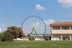 Ferris wheel in Agia Napa, Cyprys. Stock Image