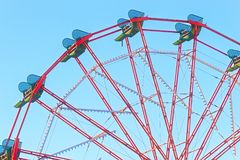 Ferris Wheel al parco del West End Fotografia Stock
