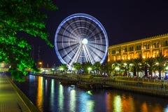 Ferris wheel in Al Qasba - Shajah Royalty Free Stock Images