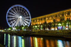 Ferris wheel in Al Qasba - Shajah Stock Image