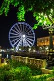 Ferris wheel in Al Qasba - Shajah Stock Photos