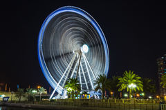 Ferris wheel in Al Qasba - Shajah Royalty Free Stock Photo