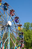 Ferris Wheel at Amusement Park Stock Photography