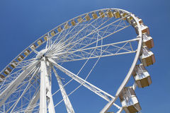 Ferris wheel in an amusement park Stock Image