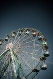 Ferris Wheel in Amusement Park on Stock Photo