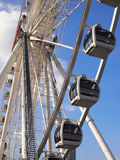 Ferris wheel. In an amusement park Stock Photography