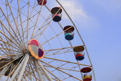 Ferris Wheel at amusement park Royalty Free Stock Images