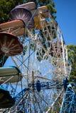 Ferris wheel at amusement park Royalty Free Stock Image