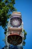 Ferris wheel at amusement park Stock Photo