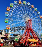 Ferris Wheel at Amusement Park Royalty Free Stock Images