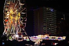 Ferris wheel amusement park Royalty Free Stock Photos