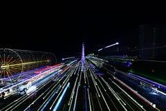 Ferris wheel amusement park Stock Photos