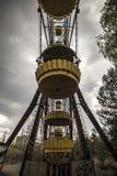 Ferris wheel in amusement park in Pripyat Royalty Free Stock Images