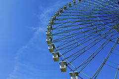 Ferris wheel. In an amusement park on a sunny day Stock Image