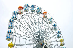 Ferris wheel in amusement park Royalty Free Stock Photo