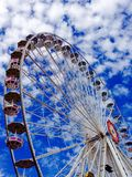 Ferris wheel in amusement park Stock Photography