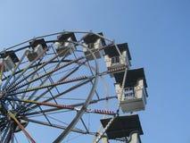 Ferris wheel amusement ride Stock Images