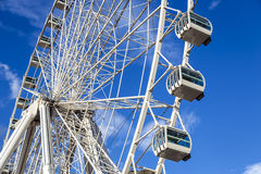 Ferris Wheel at Andorra la Vella Andorra Stock Photography