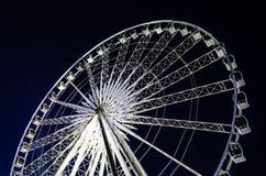 Ferris wheel at  Asiatique. The Ferris wheel at  Asiatique Royalty Free Stock Photo