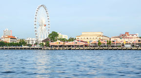 Ferris wheel at Asiatique Bangkok, Thailand stock photos